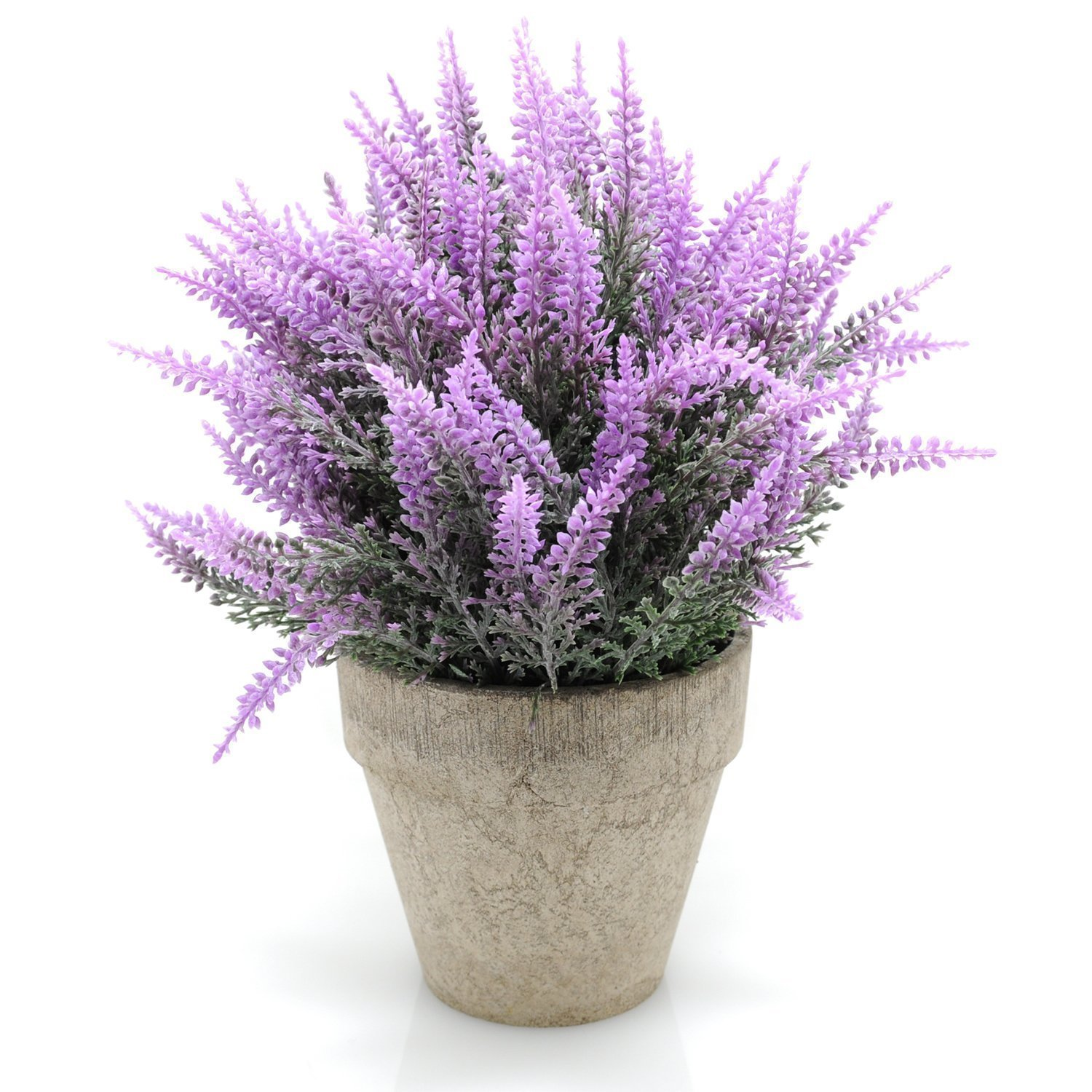 Velener Mini Artificial Flowers Provence Lavender Arrangements in Pots for Home Decor (Purple) – Welcome to Velener shop!
